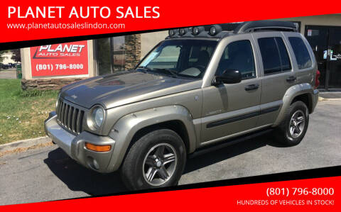 2004 Jeep Liberty for sale at PLANET AUTO SALES in Lindon UT