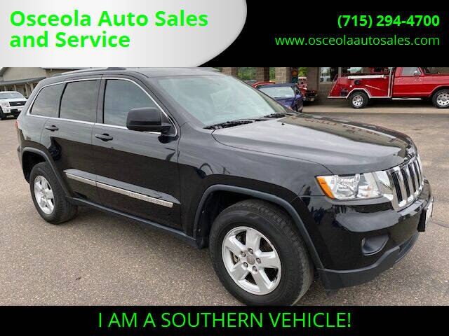2013 Jeep Grand Cherokee for sale at Osceola Auto Sales and Service in Osceola WI