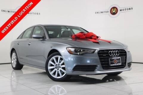 2013 Audi A6 for sale at INDY'S UNLIMITED MOTORS - UNLIMITED MOTORS in Westfield IN