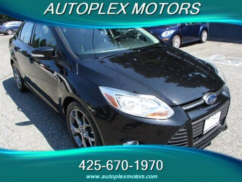2014 Ford Focus for sale at Autoplex Motors in Lynnwood WA