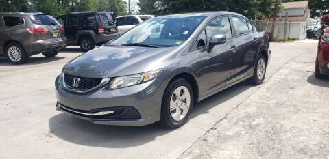 2013 Honda Civic for sale at On The Road Again Auto Sales in Doraville GA