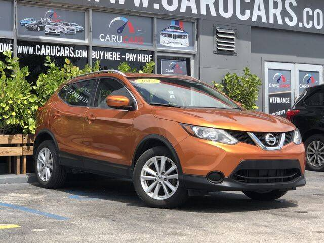 2017 Nissan Rogue Sport for sale at CARUCARS LLC in Miami FL