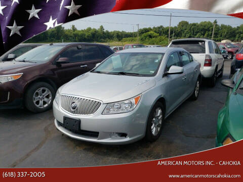 2012 Buick LaCrosse for sale at American Motors Inc. - Cahokia in Cahokia IL