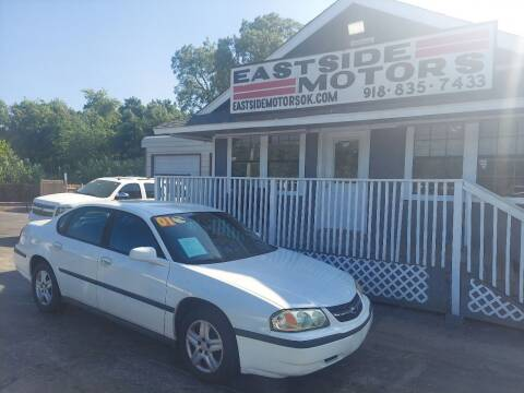 2001 Chevrolet Impala for sale at EASTSIDE MOTORS in Tulsa OK