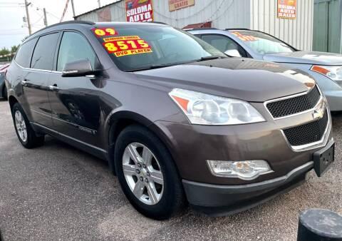 2009 Chevrolet Traverse for sale at SOLOMA AUTO SALES in Grand Island NE