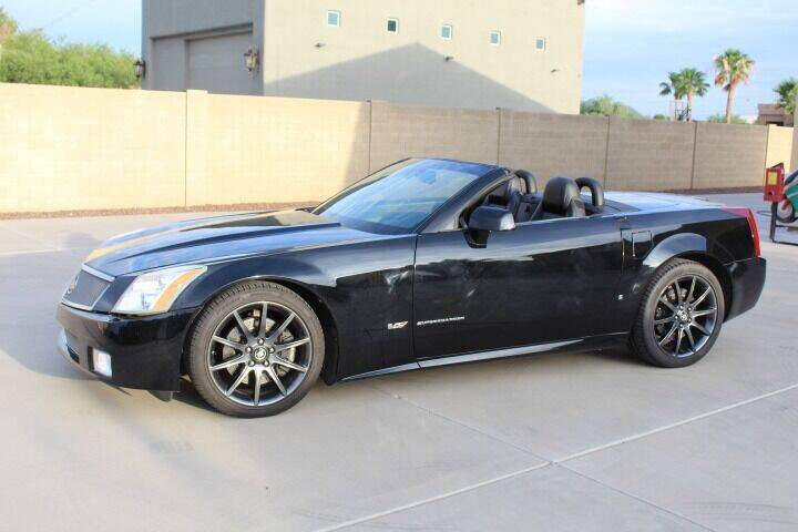 2007 Cadillac XLR-V for sale at CLASSIC SPORTS & TRUCKS in Peoria AZ