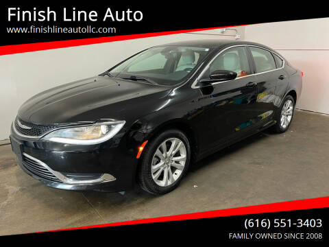 2015 Chrysler 200 for sale at Finish Line Auto in Comstock Park MI