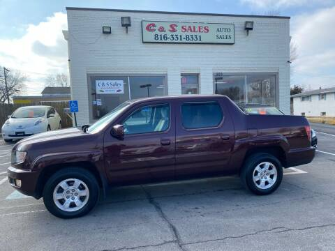 2010 Honda Ridgeline for sale at C & S SALES in Belton MO