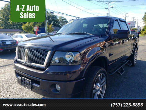 2007 Ford F-150 for sale at A-Z Auto Sales in Newport News VA