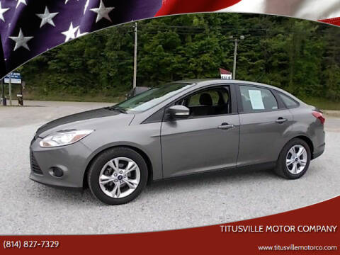 2013 Ford Focus for sale at Titusville Motor Company in Titusville PA
