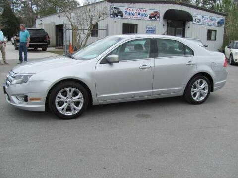 2012 Ford Fusion for sale at Pure 1 Auto in New Bern NC