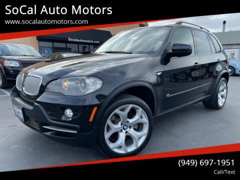 2008 BMW X5 for sale at SoCal Auto Motors in Costa Mesa CA