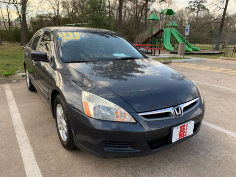 2006 Honda Accord for sale at B & M Car Co in Conroe TX