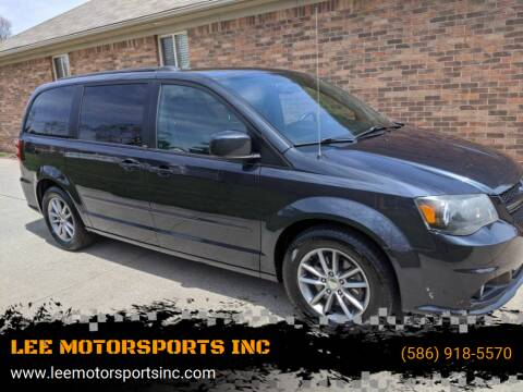 2014 Dodge Grand Caravan for sale at LEE MOTORSPORTS INC in Mount Clemens MI