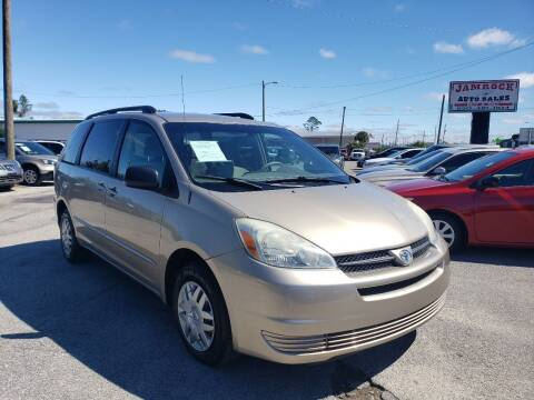 2004 Toyota Sienna for sale at Jamrock Auto Sales of Panama City in Panama City FL