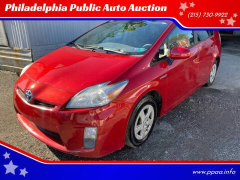 2011 Toyota Prius for sale at Philadelphia Public Auto Auction in Philadelphia PA