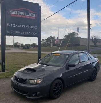 2008 Subaru Impreza for sale at SIRIUS MOTORS INC in Monroe OH