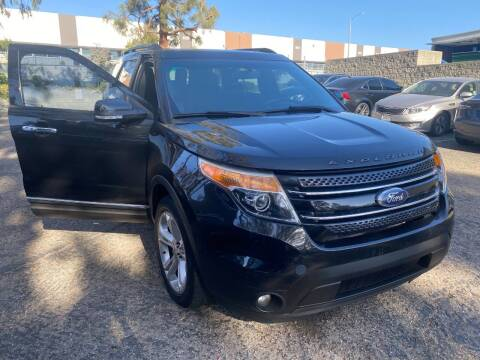 2015 Ford Explorer for sale at Crown Auto Inc in South Gate CA