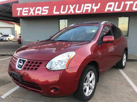 2009 Nissan Rogue for sale at Texas Luxury Auto in Cedar Hill TX