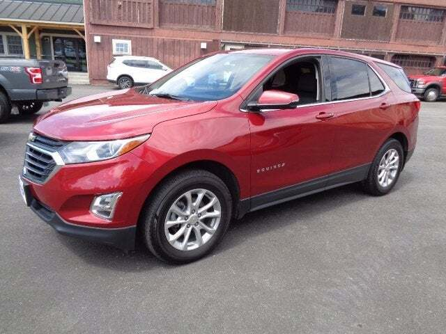 2018 Chevrolet Equinox for sale at SCHURMAN MOTOR COMPANY in Lancaster NH