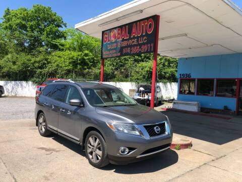 2015 Nissan Pathfinder for sale at Global Auto Sales and Service in Nashville TN