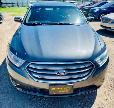 2015 Ford Taurus for sale at Good Auto Company LLC in Lubbock TX