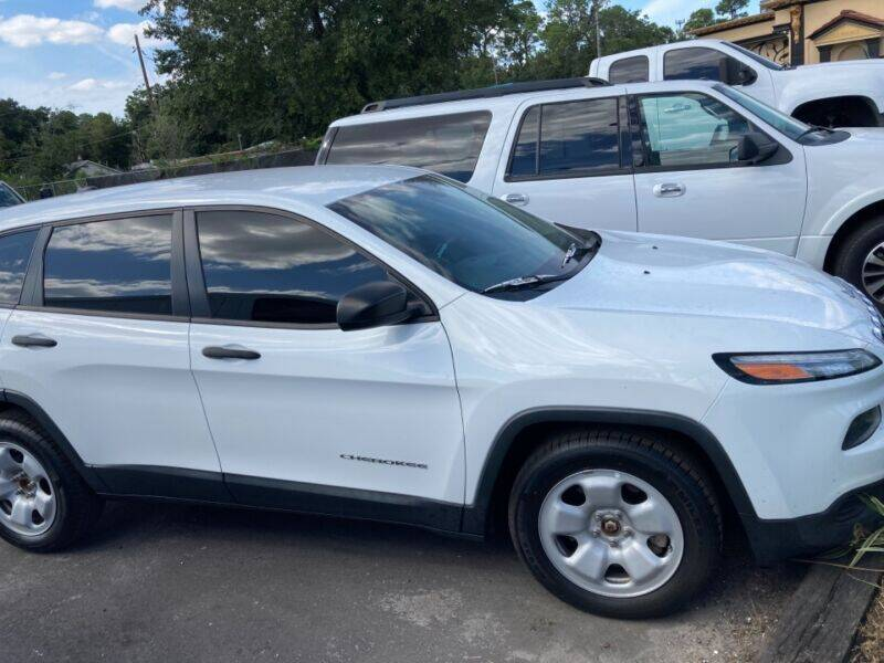 2014 Jeep Cherokee for sale at Empire Automotive Group Inc. in Orlando FL