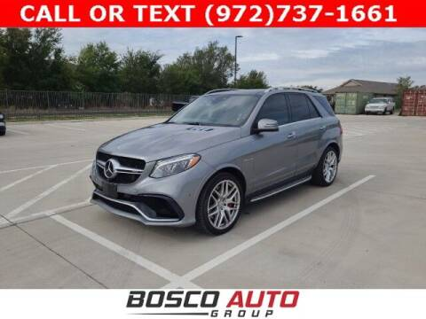 2016 Mercedes-Benz GLE for sale at Bosco Auto Group in Flower Mound TX