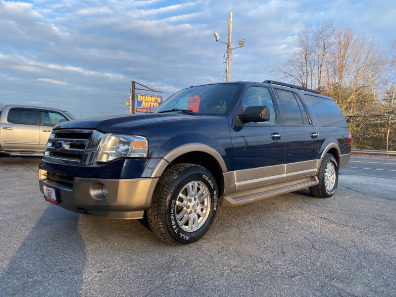 2014 Ford Expedition EL for sale at Dubes Auto Sales in Lewiston ME