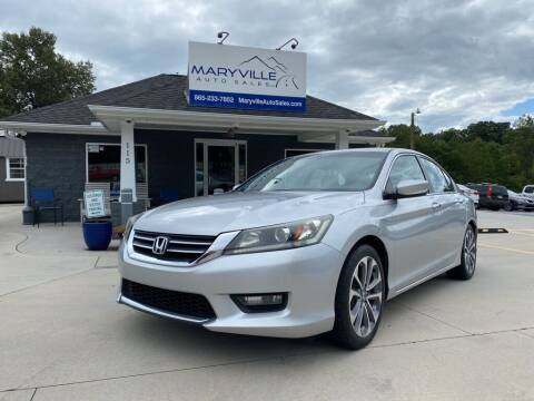2015 Honda Accord for sale at Maryville Auto Sales in Maryville TN