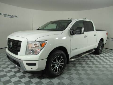 2021 Nissan Titan for sale at Curry's Cars Powered by Autohouse - Auto House Tempe in Tempe AZ