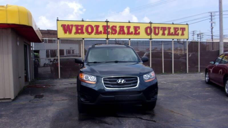 2011 Hyundai Santa Fe for sale at LONG BROTHERS CAR COMPANY in Cleveland OH