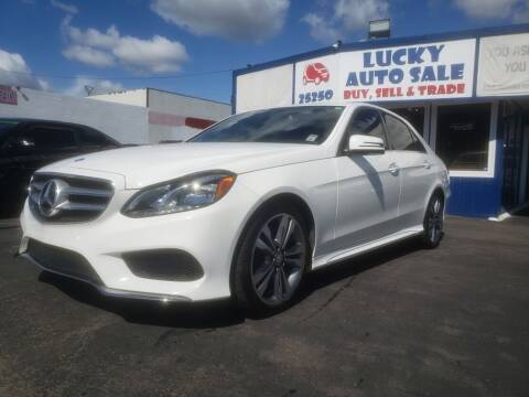 2016 Mercedes-Benz E-Class for sale at Lucky Auto Sale in Hayward CA