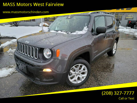 2018 Jeep Renegade for sale at M.A.S.S. Motors - West Fairview in Boise ID