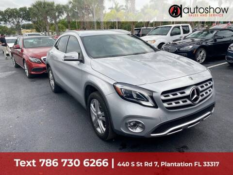 2019 Mercedes-Benz GLA for sale at AUTOSHOW SALES & SERVICE in Plantation FL