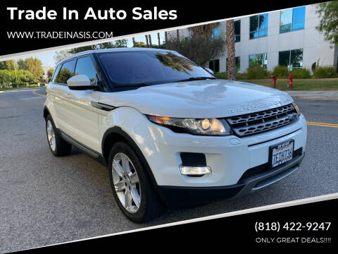 2014 Land Rover Range Rover Evoque for sale at Trade In Auto Sales in Van Nuys CA