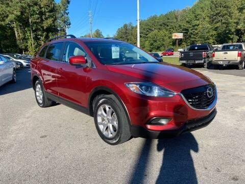 2015 Mazda CX-9 for sale at Galaxy Auto Sale in Fuquay Varina NC