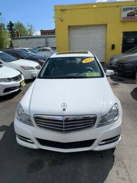 2013 Mercedes-Benz C-Class for sale at Hartford Auto Center in Hartford CT
