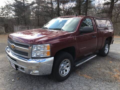 2013 Chevrolet Silverado 1500 for sale at Motuzas Automotive Inc. in Upton MA