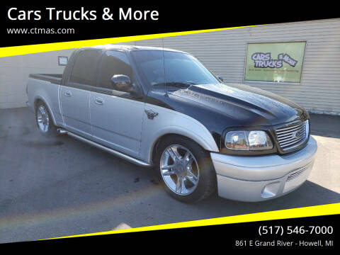 2003 Ford F-150 for sale at Cars Trucks & More in Howell MI