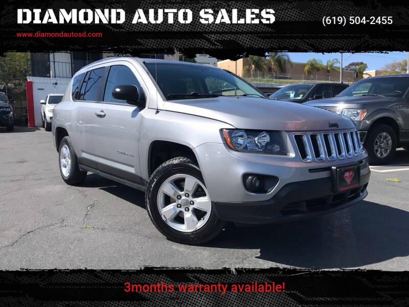 2014 Jeep Compass for sale at DIAMOND AUTO SALES in El Cajon CA