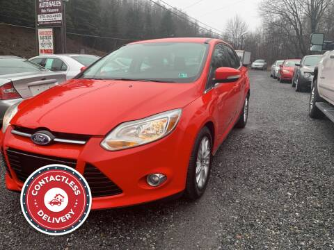 2012 Ford Focus for sale at JM Auto Sales in Shenandoah PA