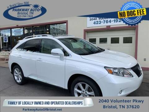2012 Lexus RX 350 for sale at PARKWAY AUTO SALES OF BRISTOL in Bristol TN