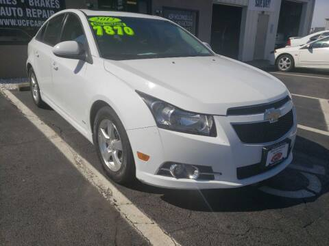 2012 Chevrolet Cruze for sale at Used Car Factory Sales & Service Troy in Troy OH