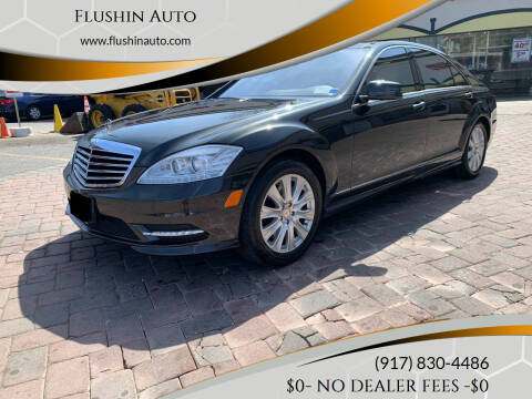 2011 Mercedes-Benz S-Class for sale at FLUSHIN AUTO in Flushing NY