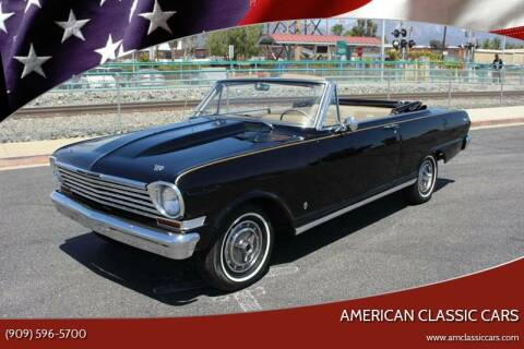 1963 Chevrolet Nova for sale at American Classic Cars in La Verne CA