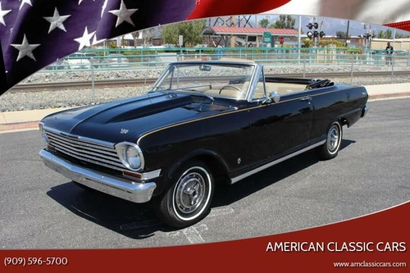 1963 Chevrolet Nova for sale at American Classic Cars in La Verne CA