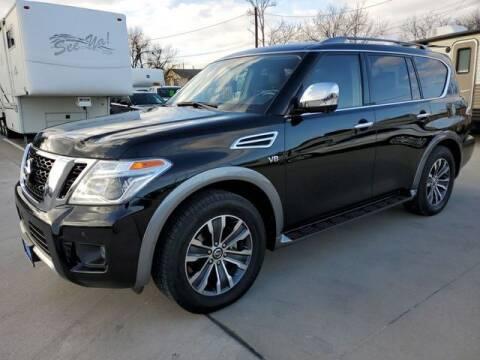 2018 Nissan Armada for sale at Kell Auto Sales, Inc - Grace Street in Wichita Falls TX