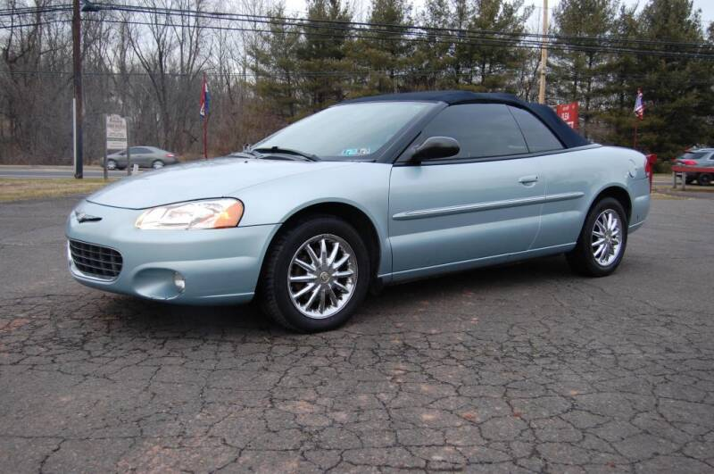 2002 Chrysler Sebring for sale at New Hope Auto Sales in New Hope PA