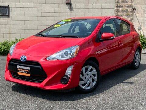 2015 Toyota Prius c for sale at Somerville Motors in Somerville MA